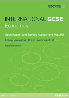 economics case studies igcse The cambridge igcse economics syllabus develops an understanding of economic terminology and principles and of basic economic theory learners study the economics of developed and developing nations and how these interrelate they also learn to handle simple data and undertake economic.