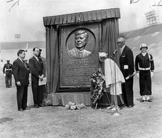 A memorial to JFK.