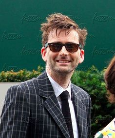 David's hair and sunglasses look, a nice start for the day