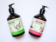 Oma Gertrude - Shower Gel Nutriente (Reichhaltiges) Pesca e Vaniglia+Shower Gel Relax (Entspannendes) Eucalipto e Mirtillo