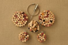 Upcycling wine corks!