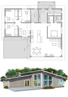 Plan De Maison Modern House Plan To Modern Family