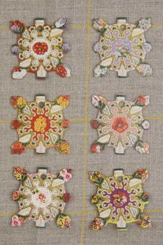 Beautiful thread cards from Sajou.