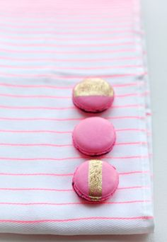 Easter-inspired French Macarons.