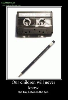 lol.. the days of tapes I remember trying to record songs of the radio HAHAHA