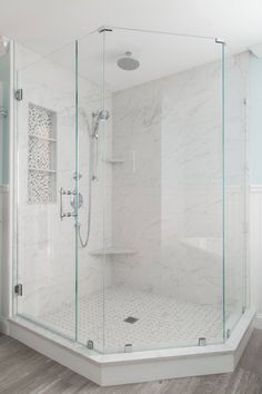 Bathroom Beveled subway tile Subway tiles and Moonstones