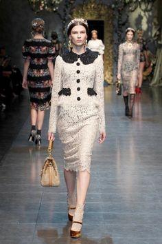 Dolce & Gabbana Women's Fashion: Baroque Romanticism - Fall Winter 2013 Women's Fashion   TwistedLifestyle.com
