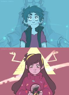 Gravity Falls: Image Gallery - Page 2 Reverse Gravity Falls, Gravity Falls Funny, Gravity Falls Anime, Gravity Falls Dipper, Gravity Falls Fan Art, Gravity Falls Comics, Gravity Falls Journal, Gravity Falls Crossover, Cartoon Shows