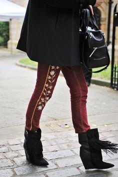 Isabel Marant pants & Boots