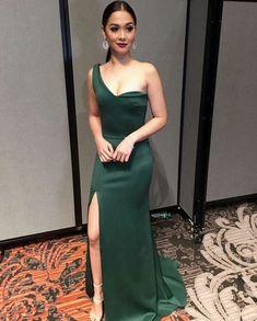 Filipina Actress, Filipina Beauty, Maja Salvador, Best Actress Award, Strapless Dress Formal, Formal Dresses, Star Awards, Hair Color Dark, Celebs