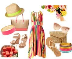 """Summer Colours"" by ulstblog on Polyvore"
