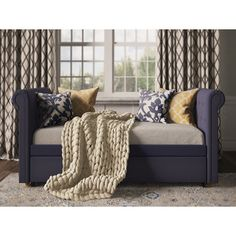 Darby Home Co Sipple Daybed with Trundle & Reviews | Wayfair