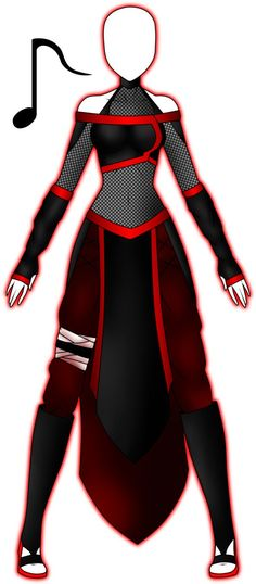 Here is Female Ninja Outfit Idea for you. Female Ninja Outfit black ninja costume for women halloween warrior uniform outfit. Fashion Design Drawings, Fashion Sketches, Ninja Outfit, Clothing Sketches, Anime Dress, Drawing Clothes, Character Outfits, Anime Outfits, Costume Design