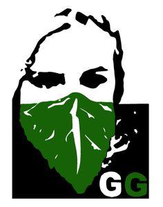 a logo for guerilla gardening