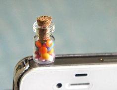 jar of candies phone plug