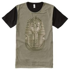 Golden King Tut All-Over Print T-Shirt - customize create your own #personalize diy & cyo