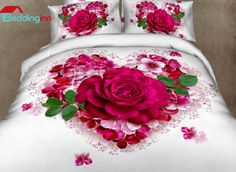 Beautiful Love of Rose Print 100% Cotton 3D Duvet Cover Sets  Buy link>>>http://urlend.com/jUR3maa Discover more>>>http://urlend.com/fYRfqay Live a better life, start with Beddinginn http://www.beddinginn.com/product/Very-Beauty-Love-Of-Rose-Print-100-Cotton-3d-Duvet-Cover-Sets-10977814.html