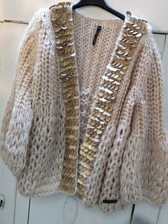 Knit Sweater Pattern, Knit Blanket Sweater, Knitting Pattern Shrug, Knitting Pat… You are in the right place about knitting mittens Here we offer you the. Sweater Knitting Patterns, Crochet Cardigan, Knit Patterns, Beige Cardigan, Easy Knitting, Oversized Cardigan, Oversized Sweaters, Knitting Sweaters, Knitting Ideas