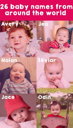 26 baby names from around the world. We've crossed land and sea to find the hippest baby names from all corners of the globe.