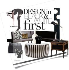 """Design in black and white..."" by gloriettequartet on Polyvore"