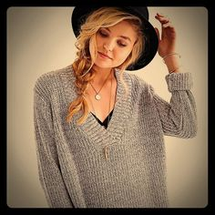 URBAN OUTFITTERS Sweater You will want to live in this UBER COMFY V-neck sweater!!!! I have the exact sweater in like 10 colors & I need closet space :) Like New. Urban Outfitters Sweaters V-Necks