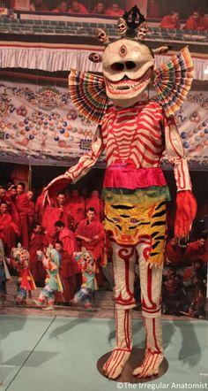 Tibetan dance costume