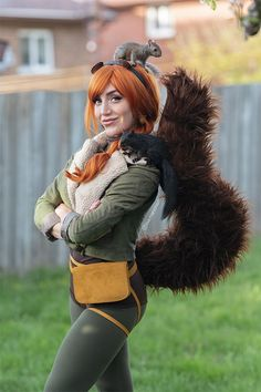 Girl Costumes, Cosplay Costumes, Cosplay Ideas, Costume Ideas, Funny Photos, Best Funny Pictures, Squirrel Girl Marvel, Marvel Cosplay, Superhero Cosplay