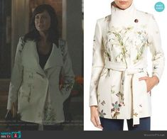 Cassandra Nightingale Fashion on Good Witch Witch Fashion, Autumn Fashion, Hallmark Good Witch, Catherine Bell, The Good Witch, Female Fighter, Perfect Jeans, Wrap Coat, Classic Chic