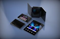 Photo gallery of the day: Samsung Galaxy Fold 2 foldable smartphone. According to latest leaks, Smartphone Samsung Galaxy Fold 2 will fold in the other Samsung Galaxy, New Samsung, Best Smartphone, Android Smartphone, Microsoft Surface, Phone Gadgets, Tablet, Galaxy Note 10, Jaba