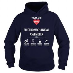 I Love ELECTROMECHANICAL ASSEMBLER JOB TSHIRT GUYS LADIES YOUTH TEE HOODIE SWEAT SHIRT VNECK UNISEX JOBS Shirts & Tees #tee #tshirt #named tshirt #hobbie tshirts #Assembler