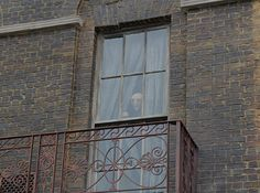 Stand outside 12 Grimmauld Place and you'll see Kreacher open the curtains every other minute