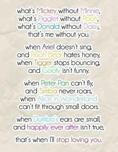 Disney. :) I'm going to make this into a sign when I get older and hang it my house :)