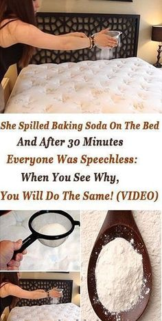 She Spilled Baking Soda on the Bed and immediately after 30 Minutes Absolutely everyone Was Speechless: Any time you See Why, You are going to Do precisely the same! Diy Cleaning Products, Cleaning Solutions, Cleaning Hacks, Cleaning Schedules, Cleaning Routines, Cleaning Recipes, Deep Cleaning, Spring Cleaning, Health Remedies