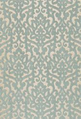 Fabric | Luxembourg Velvet in Aqua | Schumacher