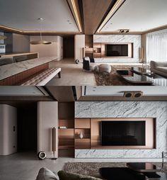 Interior Ceiling Design, Modern Home Interior Design, Apartment Interior Design, Interior Design Living Room, Living Room Tv Cabinet Designs, Living Room Designs, Living Room Modern, Chesterfield, Chinese Style