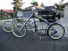 Very Cool custom NIrve Switchblade chopper cruiser bike!!!