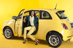 Rev up Spring Fashion with the Fiat 500 - Pittsburgh Magazine - April 2013 (Becky Thurner Braddock)