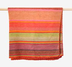 Nearly every color of the rainbow is featured in the dreamy rug <3