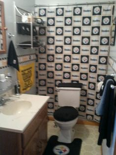 Steeler S Bathroom Love It