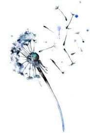 Image result for dandelion clocks and fairy tattoos