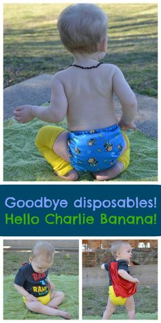 Charlie Banana Cloth Diaper Review