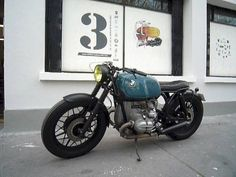 With regards to scramblers, the first BMW G/S is the genuine article. Bmw Cafe Racer, Cafe Racers, Cx 500, Bmw Concept, R65, Custom Cycles, Bmw Classic, Cool Motorcycles, Motorcycle Design