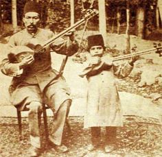 Shahnazi started learning tar from his father at the age of seven. After five years he reached the level that he was able to teach some of his father's students. At the age of 14 he recorded two gramophone disks playing noted Persian melodies, with Avaz-e-Afshari and Avaz-e-Bayat-e-Tork accompanying the vocalist Jenab Damavandi. At the age of 18, after his father died, he became responsible for teaching his father's students. He established the Shahnazi Music School in 1929.