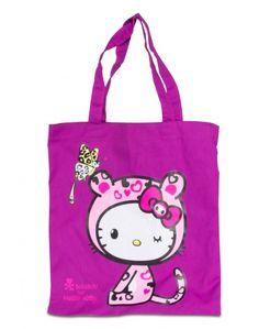 tokidoki x Hello Kitty Tote Bag Leopard Kitty