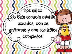 A Colegio Ideas, Good Manners, Orange House, Borders And Frames, Classroom Decor, Back To School, Preschool, Clip Art, Printables