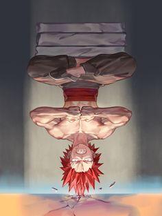 Boku no Hero Academia || AU [ Kirishima Eijirou ]