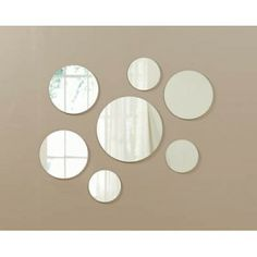 Wall Mirror Sets zoe circle wall mirror set | mirror set, apartment therapy and therapy