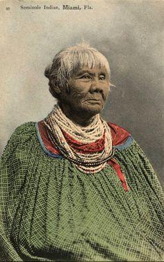 Seminole Indian. Florida