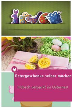 Eine farbenfrohe Kleinigkeit zum Osterfest zaubert ein Lächeln ins Gesicht - vor allem, wenn es sich dabei um ein selbstgemachtes Ostergeschenk handelt. #ostergeschenke #osternest #diy Blog, Wordpress, Beauty, Fashion Styles, Packaging, Easter Activities, Diy Home Crafts, Face, Woman