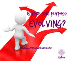 Today's blog: The Evolution of Soul Purpose. This blog is my story. Do you have one of those niggling feelings deep inside? heart emoticon ‪#‎WUVIP‬ Read more here: http://soundwellness.com/the-evolution-of-soul-purpose/